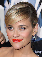 BEVERLY HILLS, CA, USA - NOVEMBER 19: Actress Reese Witherspoon arrives at the Los Angeles Premiere Of Fox Searchlight Pictures' 'Wild' held at the AMPAS Samuel Goldwyn Theater on November 19, 2014 in Beverly Hills, California, United States. (Photo by Xavier Collin/Celebrity Monitor)