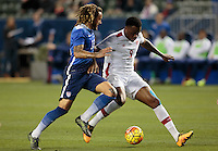 Carson, CA. - February 5, 2016: The US Men's National team defeated Canada 1-0 in an international friendly match at StubHub Center.