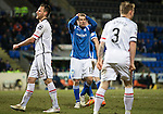 St Johnstone v Inverness Caley Thistle…09.03.16  SPFL McDiarmid Park, Perth<br />David Wotherspoon holds his head after he shoots over the bar<br />Picture by Graeme Hart.<br />Copyright Perthshire Picture Agency<br />Tel: 01738 623350  Mobile: 07990 594431