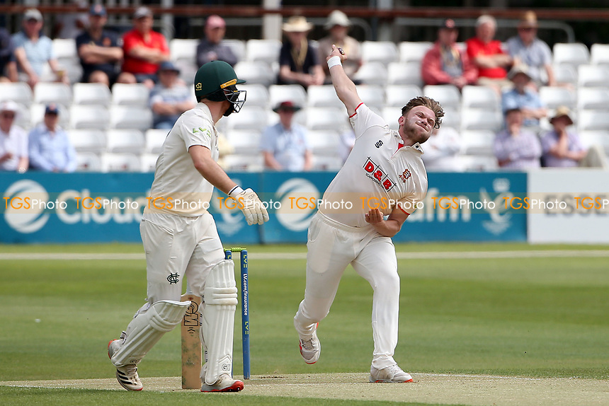 Sam Cook in bowling action for Essex during Essex CCC vs Nottinghamshire CCC, LV Insurance County Championship Group 1 Cricket at The Cloudfm County Ground on 3rd June 2021