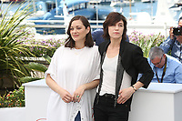 MARION COTILLARD AND CHARLOTTE GAINSBOURG - PHOTOCALL OF THE FILM 'LES FANTOMES D'ISMAEL' AT THE 70TH FESTIVAL OF CANNES 2017
