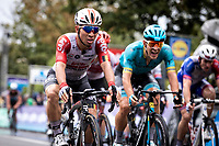 Caleb Ewan (AUS/Lotto Soudal) wins the bunch sprint <br /> <br /> 99th Brussels Cycling Classic 2019<br /> One Day Race: Brussels > Brussels 189.4km<br /> <br /> ©kramon