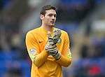 St Johnstone v Celtic.....14.02.15<br /> Craig Gordon<br /> Picture by Graeme Hart.<br /> Copyright Perthshire Picture Agency<br /> Tel: 01738 623350  Mobile: 07990 594431