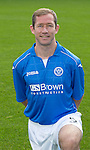 St Johnstone FC 2014-2015 Season Photocall..15.08.14<br /> Frazer Wright<br /> Picture by Graeme Hart.<br /> Copyright Perthshire Picture Agency<br /> Tel: 01738 623350  Mobile: 07990 594431