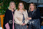 Enjoying the evening in Croi on Saturday, l to r: Carol Carey, Debra Fealy and Catriona O'Sullivan.