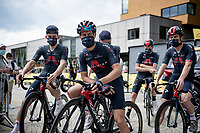 Richie Porte (AUS/Ineos Grenadiers) at the race start in Albertville<br /> <br /> Stage 10 from Albertville to Valence (191km)<br /> 108th Tour de France 2021 (2.UWT)<br /> <br /> ©kramon