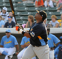 June 24, 2008: Catcher Pablo Sandoval of the San Jose Giants at the California-Carolina All-Star Game between members of the California League and the Carolina League at BB&T Coastal Field in Myrtle Beach, S.C. Photo: Tom Priddy / Four Seam Images