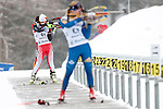 MARTELL-VAL MARTELLO, ITALY - FEBRUARY 02: GODBOUT Claude (CAN) during the Women 7.5 km Sprint at the IBU Cup Biathlon 6 on February 02, 2013 in Martell-Val Martello, Italy. (Photo by Dirk Markgraf)