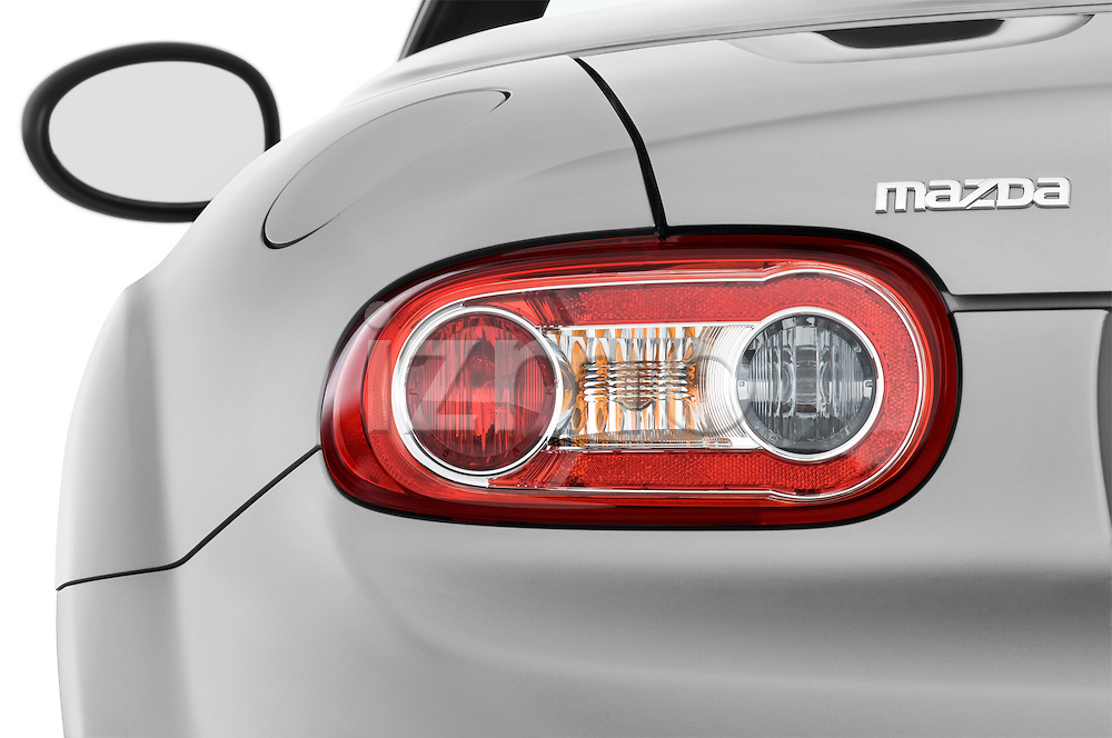 Tail light close up detail view of a 2010 Mazda Miata MX5