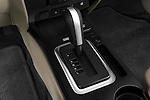 Gear shift detail view of a 2009 Ford Escape Hybrid