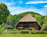 Deutschland, Baden-Wuerttemberg, Ortenaukreis, Gutach: Schwarzwaelder Freilichtmuseum Vogtsbauernhof | Germany, Baden-Wurttemberg, Gutach: Black Forest Open Air Museum Vogtsbauernhof
