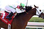 Eschew Obfuscation with Freddie Lenclud wins the 4th race at Keeneland Race Course. 04.08.2010