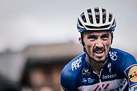 Julian Alaphilippe (FRA/Quick-Step Floors) after finishing<br /> <br /> Stage 5: Grenoble > Valmorel (130km)<br /> 70th Critérium du Dauphiné 2018 (2.UWT)