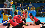 Jennifer Oakes, Rio 2016 - Sitting Volleyball // Volleyball assis.<br /> Canada competes against Rwanda in the Women's Sitting Volleyball Preliminary // Le Canada affronte le Rwanda dans le tournoi préliminaire de volleyball assis féminin. 15/09/2016.