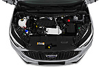 Car stock 2019 Ford Edge ST Line 5 Door SUV engine high angle detail view