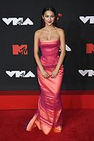 NEW YORK, NY- SEPTEMBER 12: Olivia Rodrigo at the 2021 MTV Video Music Awards at Barclays Center on September 12, 2021 in Brooklyn,  New York City. <br /> CAP/MPI/JP<br /> ©JP/MPI/Capital Pictures
