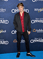 """LOS ANGELES, CA: 18, 2020: Sebastian Genta at the world premiere of """"Onward"""" at the El Capitan Theatre.<br /> Picture: Paul Smith/Featureflash"""