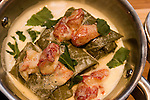 Lobster & Grape Leaves, Parea Restaurant, 36 East 20th Street, New York, N.Y.