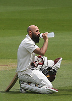 Surrey batsman, Hashim Amla during Surrey CCC vs Somerset CCC, LV Insurance County Championship Group 2 Cricket at the Kia Oval on 13th July 2021