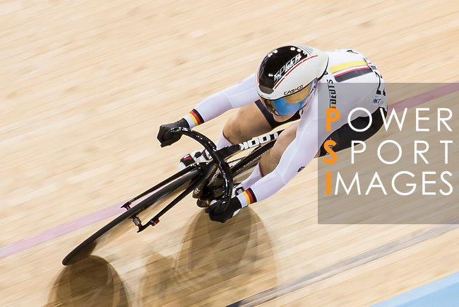 Kristina Vogel of the Germany team competes in the Women's Sprint - Qualifying as part of the 2017 UCI Track Cycling World Championships on 13 April 2017, in Hong Kong Velodrome, Hong Kong, China. Photo by Chris Wong / Power Sport Images