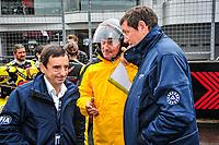 #50 JACK LECONTE (FRA) LARBRE GERARD NEVEU (FRA) CEO FIA WEC TEAM MANAGER PIERRE FILLON (FRA) PRESIDENT OF THE AUTOMOBILE CLUB OF WEST
