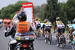 Time gaps for the peloton during Stage 6 of the 2015 Presidential Tour of Turkey running 184km from Denizli to Selcuk. 30th April 2015.<br /> Photo: Tour of Turkey/Mario Stiehl/www.newsfile.ie