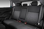 Rear seats of a 2011 Mitsubishi Outlander Sport SE