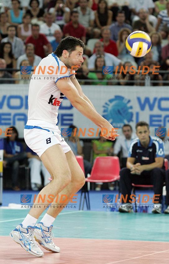 Alberto Cisolla (Italia)<br /> Italia vs Russia 1-3<br /> Girone B, World League Volley<br /> Palalottomatica, Roma, 28 Giugno Roma<br /> Photo Antonietta Baldassarre Insidefoto