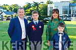 Adrian, Matilda, Keenan and Joey McCarthy  at the Lissivigeen NS Confirmation in St Marys CAthedral on Saturday