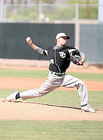 Casey Upperman, Yavapai College Roughriders playing at Phoenix College, Phoenix, AZ - 05/01/2010.Photo by:  Bill Mitchell/Four Seam Images.