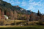 Germany, Upper Bavaria, near Ettal: autumn scenery at Park Linderhof | Deutschland, Bayern, Oberbayern, bei Ettal: Herbstlandschaft im Park Linderhof