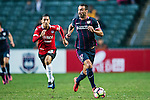 SC Kitchee Diego Segovia in action during the 2017 Lunar New Year Cup match between SC Kitchee (HKG) vs Muangthong United (THA) on January 28, 2017 in Hong Kong, Hong Kong. Photo by Marcio Rodrigo Machado/Power Sport Images