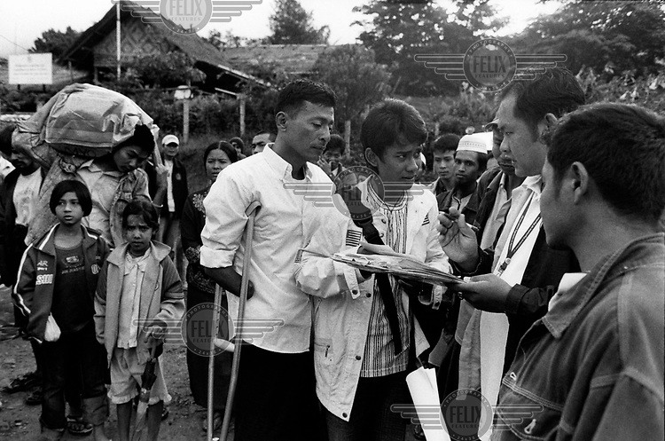 Myo Myint and his brother-in-law Min Paing are summoned by IOM (International Organisation of Migration) officials to board the bus that will take them on a journey from Umpiem Mai refugee camp to a new life in the United States. At 16 Myo joined the army of the ruling Burmese junta, where he lost his right forearm and lower leg whilst laying a mine. The blast also took away his left eye and most of the fingers on his left hand. It was while recovering from his injuries in hospital that Myo Myint made the life altering and dangerous decision to change sides. He joined the new democratic opposition, a choice that would lead to a total of 15 years spent in prison. The documentary 'Burma Soldier' follows Myo Myint's journey from refugee camp on the Thai-Burma border to eventually being re-united with his siblings in the United States, chronicling his transformation from a soldier of Burma's junta to democracy activist; from a political prisoner to a refugee in a foreign land.