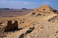 Speicherburg, Guermessa, Tunesien