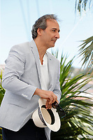 """CANNES, FRANCE - JULY 13: French music composer Alexandre Desplat at photocall for the film """"The French Dispatch"""" at the 74th annual Cannes Film Festival in Cannes, France on July 13, 2021 <br /> CAP/GOL<br /> ©GOL/Capital Pictures"""
