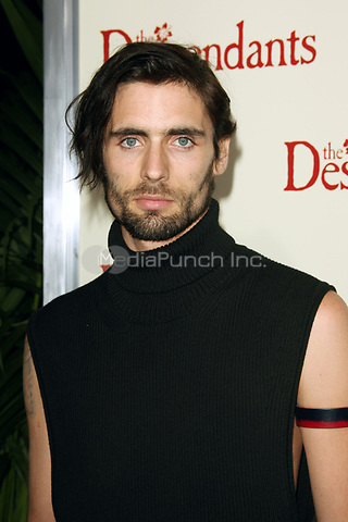 Tyson Ritter at the Los Angeles Premiere of 'The Descendants' at AMPAS Samuel Goldwyn Theater on November 15, 2011 in Beverly Hills, California © mpi21/MediaPunch Inc.