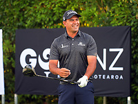 Andrew Henare. Day one of the Brian Green Property Group NZ Super 6s Manawatu at Manawatu Golf Club in Palmerston North, New Zealand on Thursday, 25 February 2021. Photo: Dave Lintott / lintottphoto.co.nz
