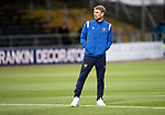 Dundee v St Johnstone…22.09.21  Dens Park.    Premier Sports Cup<br />David Wotherspoon pictured taking a look around Dens Park shortly after arriving<br />Picture by Graeme Hart.<br />Copyright Perthshire Picture Agency<br />Tel: 01738 623350  Mobile: 07990 594431