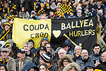 Ballyea fans during the All-Ireland Club Hurling Final against Cuala at Croke Park. Photograph by John Kelly.