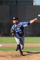 West Michigan Whitecaps pitcher Jared Tobey (31) delivers a pitch during a game against the Wisconsin Timber Rattlers on May 22, 2021 at Neuroscience Group Field at Fox Cities Stadium in Grand Chute, Wisconsin.  (Brad Krause/Four Seam Images)