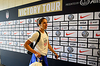 PHILADELPHIA, PA - AUGUST 29: Carli Lloyd #10 of the United States prior to a game between Portugal and USWNT at Lincoln Financial Field on August 29, 2019 in Philadelphia, PA.