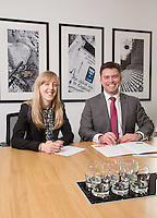 Charlotte Chapman and Paul Simpson from Gateley plc Nottingham