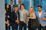 Inigo Errejon  before the four political debate between, the leaders of Ciudadanos, Unidos Podemos, Partido Socialista and Partido Popular, before the elections of july 26 Jun 13,2016. (ALTERPHOTOS/Rodrigo Jimenez)