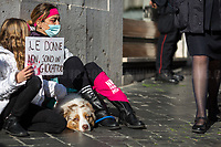25.11.2020 - Se Ci fermiamo Noi Si Ferma Il Mondo - Non Una di Meno's National Demo At Parliament