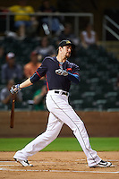 Mesa Solar Sox Bradley Zimmer (7), of the Cleveland Indians organization, during the Bowman Hitting Challenge on October 8, 2016 at the Salt River Fields at Talking Stick in Scottsdale, Arizona.  (Mike Janes/Four Seam Images)