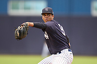 FCL Yankees pitcher Alfred Vega (56) during a game against the FCL Tigers East on July 27, 2021 at the Yankees Minor League Complex in Tampa, Florida. (Mike Janes/Four Seam Images)
