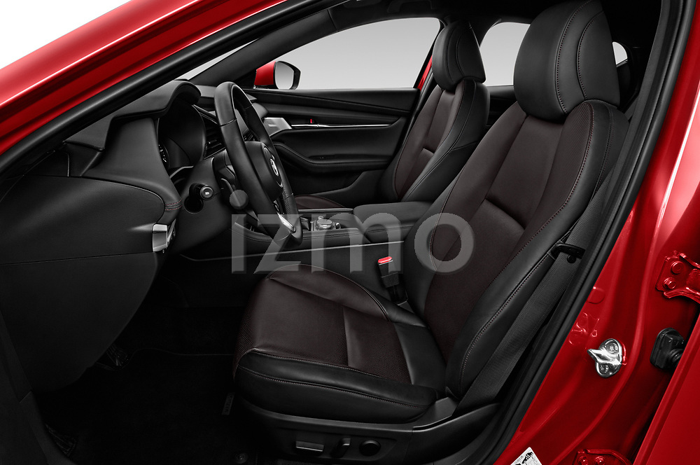 Front seat view of a 2019 Mazda Mazda3 Skycruise 5 Door Hatchback front seat car photos