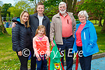 Enjoying a stroll in the Listowel town park on Sunday, l to r: Natasha, Laoise, Damien, Kevin and Agnus Ginty.