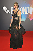 """Agathe Rousselle at the 65th BFI London Film Festival """"Titane"""" UK premiere, Royal Festival Hall, Belvedere Road, on Saturday 09th October 2021, in London, England, UK. <br /> CAP/CAN<br /> ©CAN/Capital Pictures"""