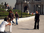 PHOTOGRAPHER TAKES PHOTO IN FRONT OF ART MUSUEM IN MEXICO CITY